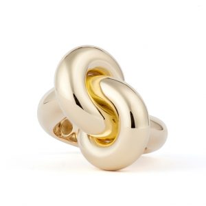 Absolutely Fat Knot Ring Guld