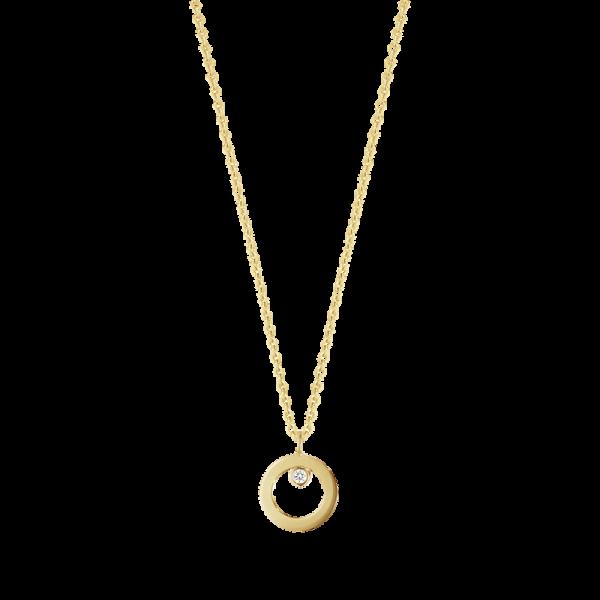 halsband med liten diamant