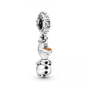 PANDORA Disney Frost Olof Hängberlock Berlocker fri frakt på TeBoon.se