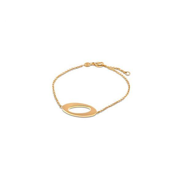 Ateljé TeBoon Oval & Out Armband 18 K Guld