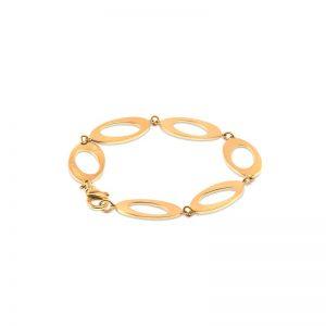 Oval & Out Multi Armband 18 K Guld från Ateljé TeBoon