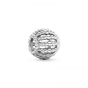 PANDORA Pärlad Openwork Berlock Silver fri frakt på Jewelrybox.se