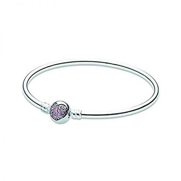 PANDORA Pandora Armband Rosa hjärta