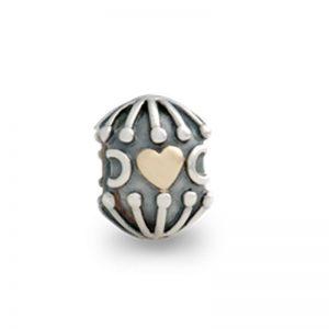 PANDORA Abstrakt hjärta Belock