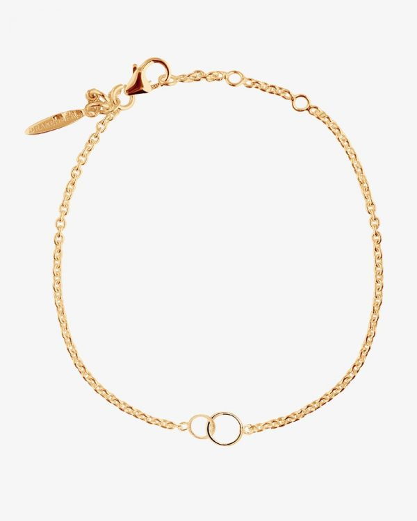 Drakenberg Sjölin Les Amis Drop Bracelet Gold