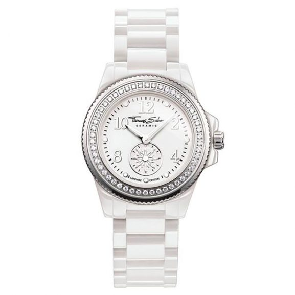 Glam Chic Watch White 33mm från Thomas Sabo