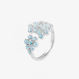Drakenberg Sjölin Frost Ring Blue Topaz