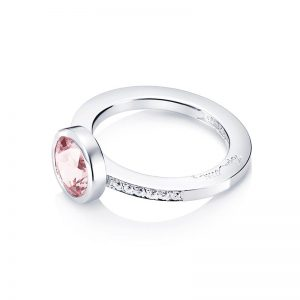 Efva Attling  High morganite & stars ring white gold