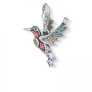 Kolibri Med Färgglada Stenar Berlock från Thomas Sabo