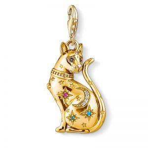 Katt Stjärnbild Berlock Guld från Thomas Sabo
