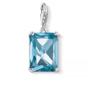 Stor Ljusblå Juvel Berlock Silver från Thomas Sabo