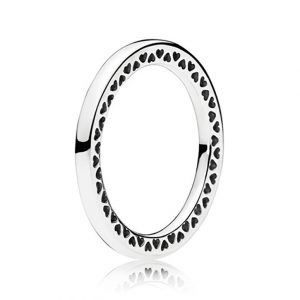 Dubbel Hjärtan Ring från Pandora