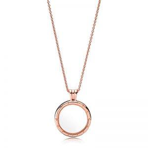 Floating Locket Rose Necklace från Pandora