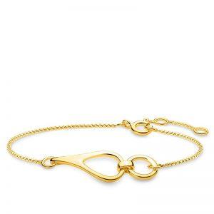 Heritage Nätt Armband Guld från Thomas Sabo