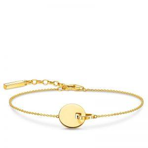 Together Armband Med Mynt Guld från Thomas Sabo