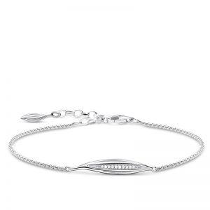 Glittrande Blad Armband Silver från Thomas Sabo
