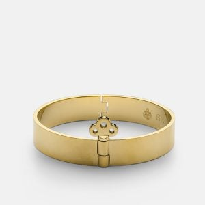 Bangle with Key Lock - Gold från Skultuna