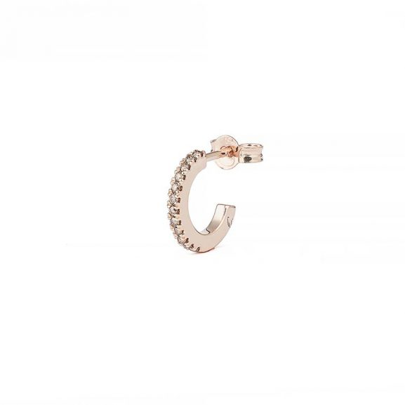 Creol Shapes 0.05 ct Rose Gold Champagne Diamonds från Engelbert