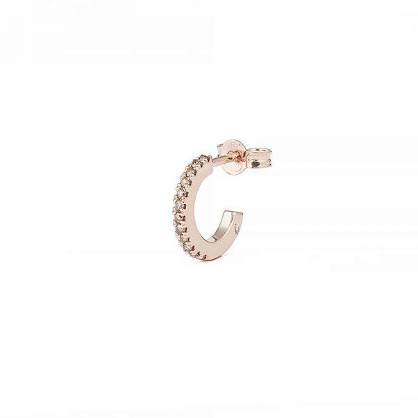 Creol Shapes 0.05 ct Rose Gold Champagne Diamonds från Engelbert