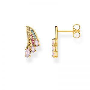 Färggranna Vingar Stiftörhängen Guld från Thomas Sabo
