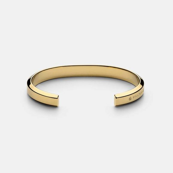 Icon Cuff - Gold Plated från Skultuna
