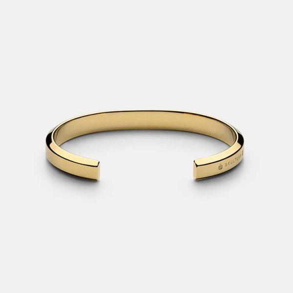 Icon Cuff - Matte Gold från Skultuna
