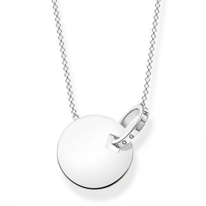 Together Halsband Stort Mynt Med Ring Silver från Thomas Sabo