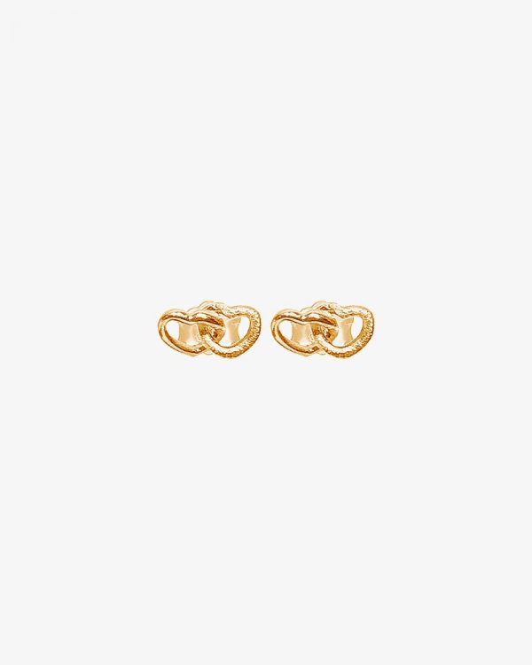 Drakenberg Sjölin Love studs gold