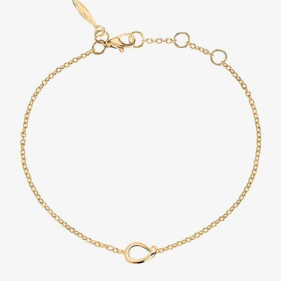Drakenberg Sjölin Ocean Drop Bracelet Gold