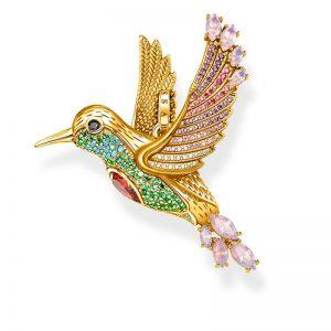 Hängsmycke Färgglad Kolibri Guld från Thomas Sabo