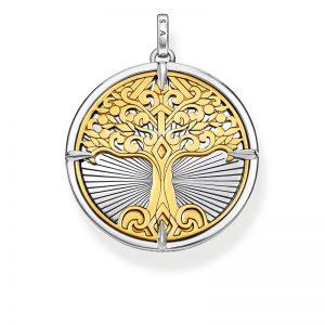 Hängsmycke Tree of Love Guld från Thomas Sabo
