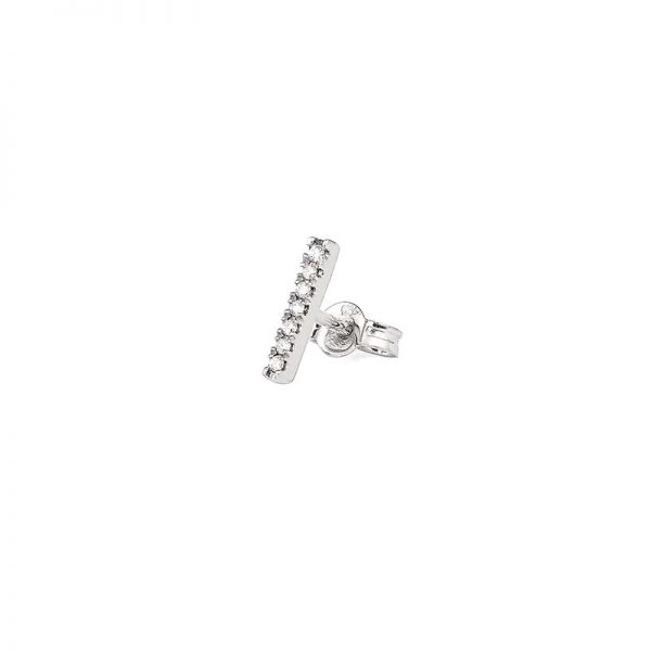 Petit Shapes Bar 0,03 ct White Gold White Diamonds