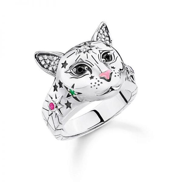 Ring Katt Silver från Thomas Sabo
