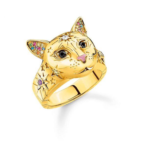 Ring Katt Guld från Thomas Sabo