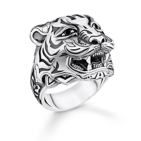 Ring Tiger Silver från Thomas Sabo