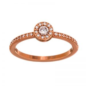 Thassos Evening Ring Rose Gold från Edblad