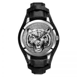 Rebel Tiger 3D Svart-Silver från Thomas Sabo