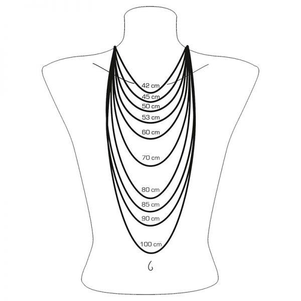 Halsband med Glittrande Kors Silver från Thomas Sabo