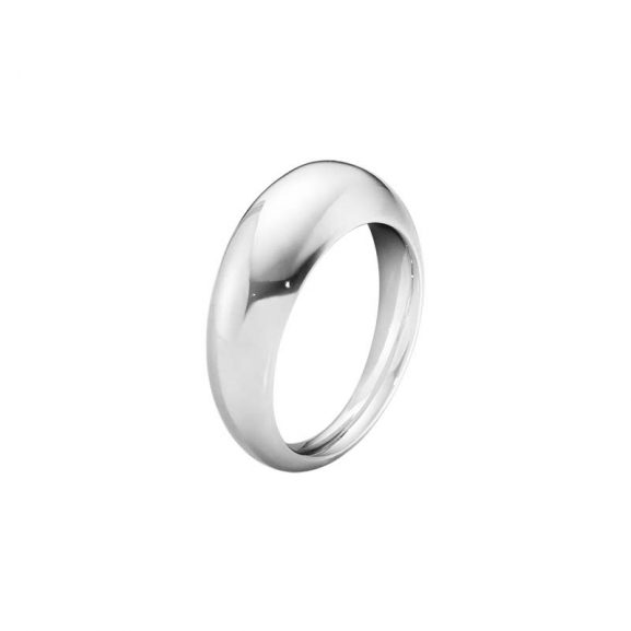 Curve Ring Slim Silver från Georg Jensen