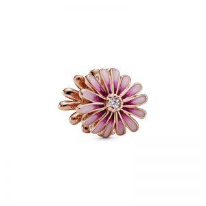 Pink Daisy Flower Berlock från PANDORA