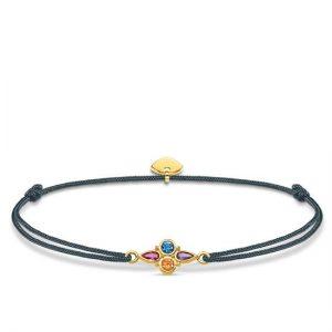 Little Secret Armband Guld och Stenar från Thomas Sabo