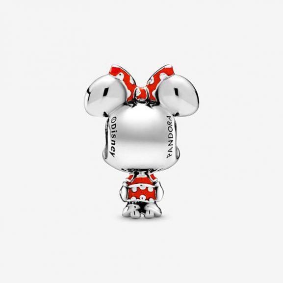 Disney Mimmi Pigg Prickig Klänning & Rosett Berlock från Pandora