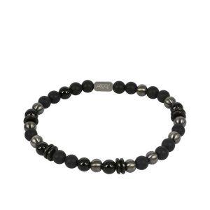 EDDIE Bracelet Black/GunMetal från Arock