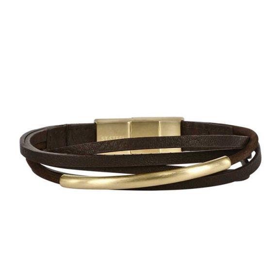 ANDY Bracelet Brown/Gold från Arock