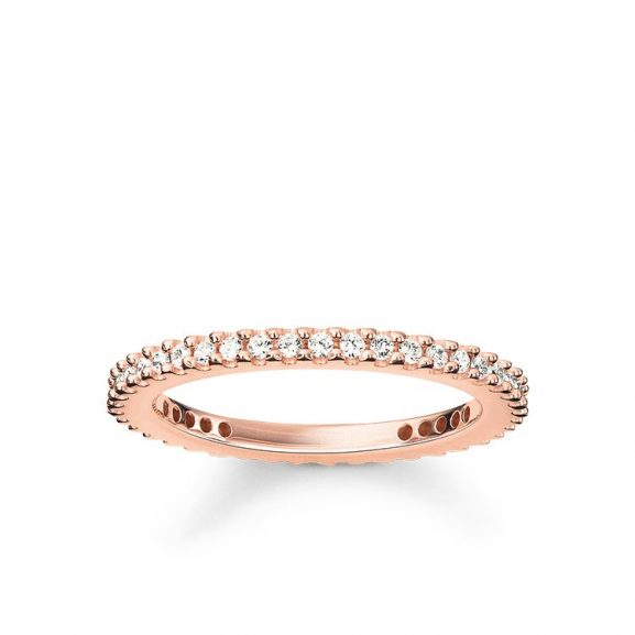 Glam & Soul Mini Ring Rosé från Thomas Sabo