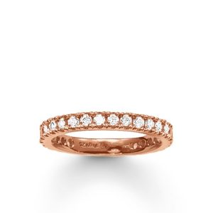 Eternity Ring Pavé Rosé från Thomas Sabo