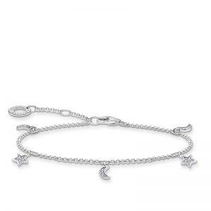 Armband med Stärna och Måne Silver från Thomas Sabo