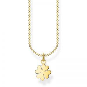 Fyrklöverblad Halsband Guld från Thomas Sabo