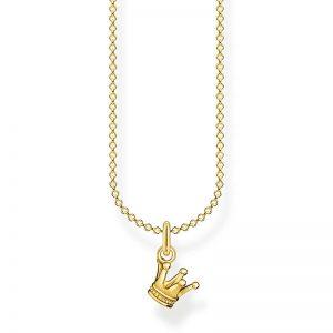 Halsband med Krona Guld från Thomas Sabo
