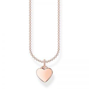 Halsband med Hjärta Rosé från Thomas Sabo